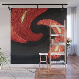 Reds The Chili Peppers Abstract Wall Mural