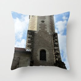 Tower of the Brunswick Cathedra Throw Pillow