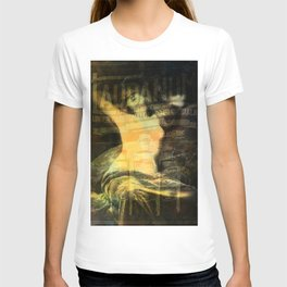 Laudanum, Vintage Advertisement Collage T-shirt