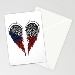Czech wings art Stationery Cards