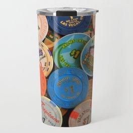 Las Vegas Casino Chips Travel Mug
