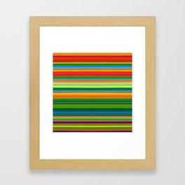99 Lines Framed Art Print