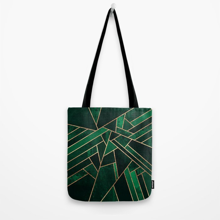 Emerald Night Tote Bag