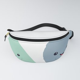Funny Pointless Circle Shapes Fanny Pack