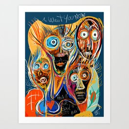 This is our soul Street Art Graffiti Art Print