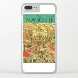 New Yorker Cover - 1944-3 Clear iPhone Case