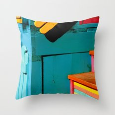 candy steps  Throw Pillow