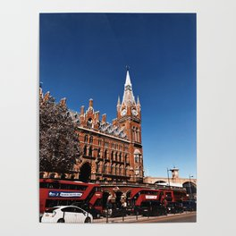 Sunny London Poster