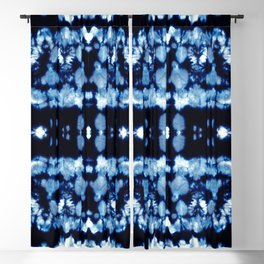 Tie-Dye Shibori Neue Blackout Curtain