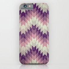 Chevron pattern_Pink Slim Case iPhone 6s