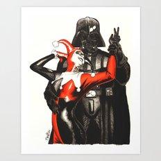 Twisted Romance Art Print