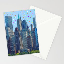 New York Meteor Shower Stationery Cards
