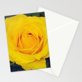 London Yellow Flower Stationery Cards