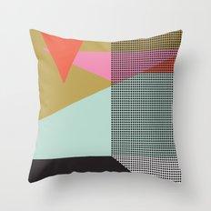 Farbe//One Throw Pillow
