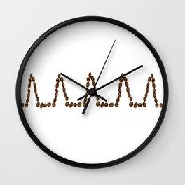 Coffee kaffa Wall Clock