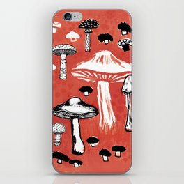 Wild Mushrooms iPhone Skin