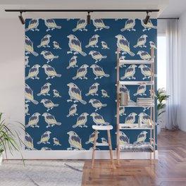 Happy Birds Wall Mural
