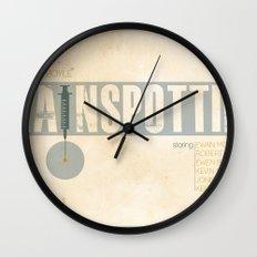 Trainspotting Wall Clock