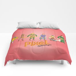 Dungeons and Dragons - Pixel Nostalgia Comforters