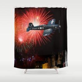Triumphant Return Shower Curtain