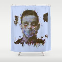 hello friend Shower Curtain