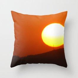 .away from the sun. Throw Pillow