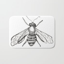 The Pale Bee Bath Mat