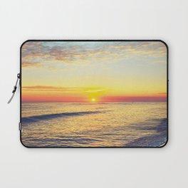 Summer Sunset Ocean Beach - Nature Photography Laptop Sleeve