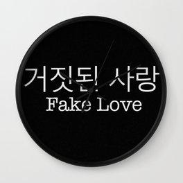 Fake love - BTS Wall Clock