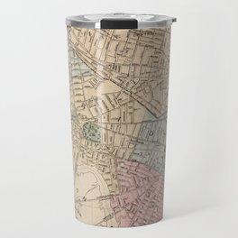 Vintage Map of Cambridge Massachusetts (1891) Travel Mug