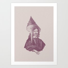 Haute Coiffure  /#2 Art Print