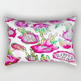 It's Raining Dragonfruit  Rectangular Pillow