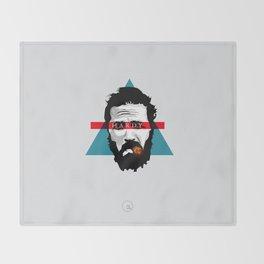Neo Poinitlism: Hardy Throw Blanket