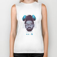 breaking bad Biker Tanks featuring BREAKING BAD by Mike Wrobel