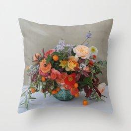 Flower Design 6 Throw Pillow