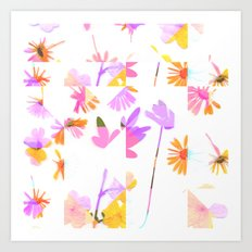 Flowering #9 Art Print