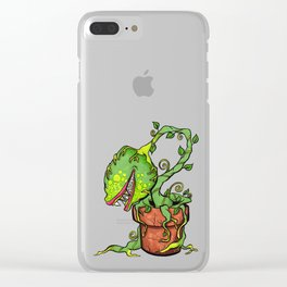 Killer Plant Venus Fly Trap Clear iPhone Case