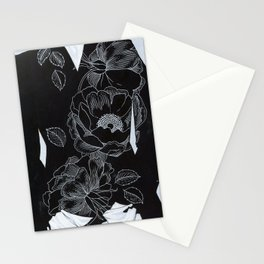 owl and poppies Stationery Cards