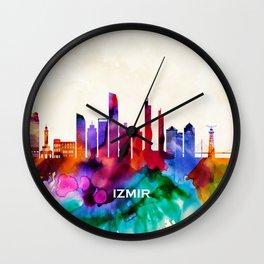 Izmir Skyline Wall Clock