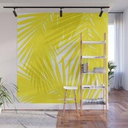 Palms Yellow Wall Mural