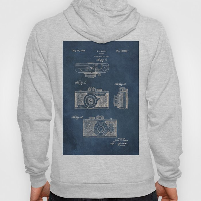 Cazin Camera patent art Hoody