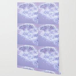 Sparkling Violet Glitter #1 #sparkling #decor #art #society6 Wallpaper