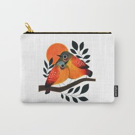 Fluffy Birds Carry-All Pouch