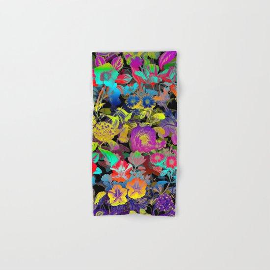Lsd Floral Pattern Hand & Bath Towel