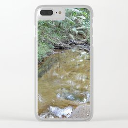 The Holy Spirit deep-forest river explorations in El Yunque rainforest PR Clear iPhone Case