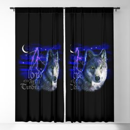 Lord of the Arctic Tundra Blackout Curtain