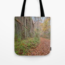 Fall Power House Trail Tote Bag