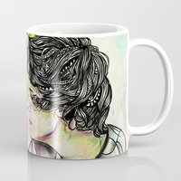 larry stylinson Mugs featuring Larry by Peek At My Dreams