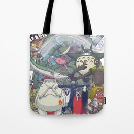 Monsters of the King II Tote Bag
