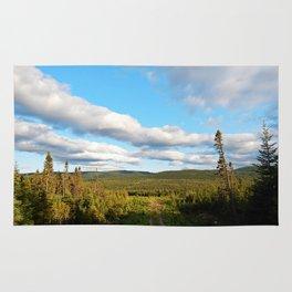 Big Skies over Mountain Trail Rug